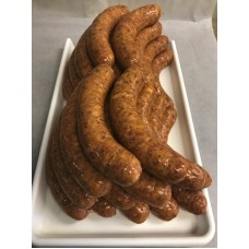 raw sweet Hungarian sausage