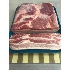 Raw Bacon Slab